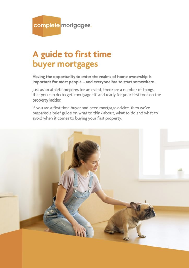 SHIFT Public Relations produced Complete Mortgages' guide for first time buyers